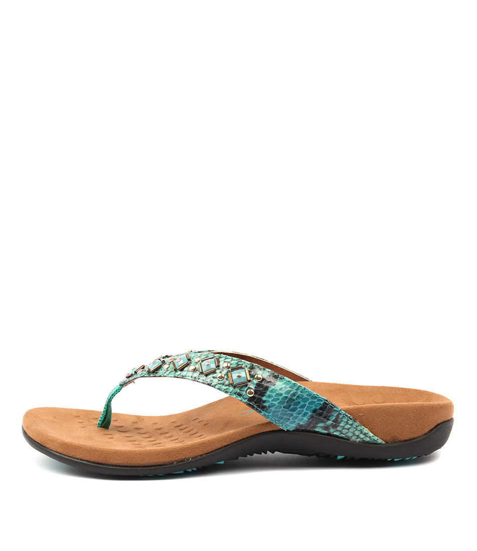 Vionic Rest Floriana Teal Sandals