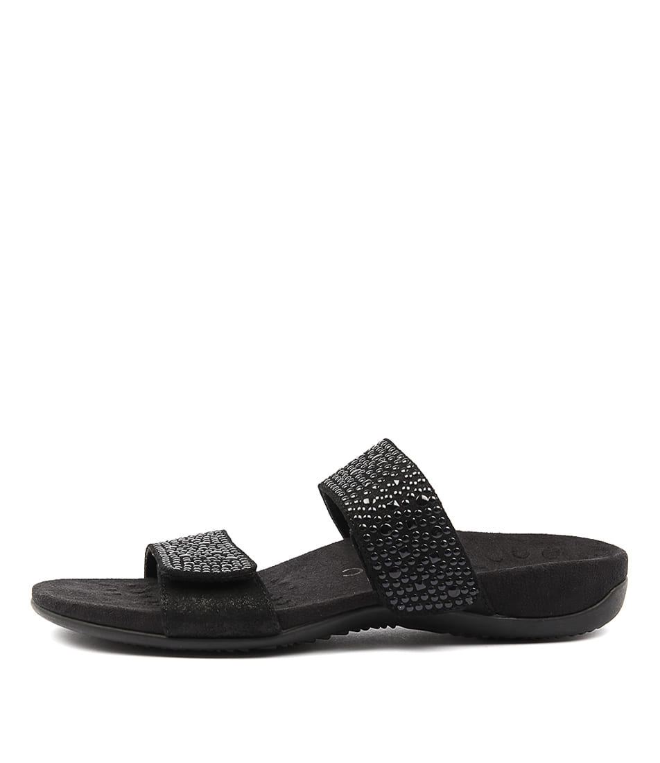 Vionic Rest Samoa Black Sandals
