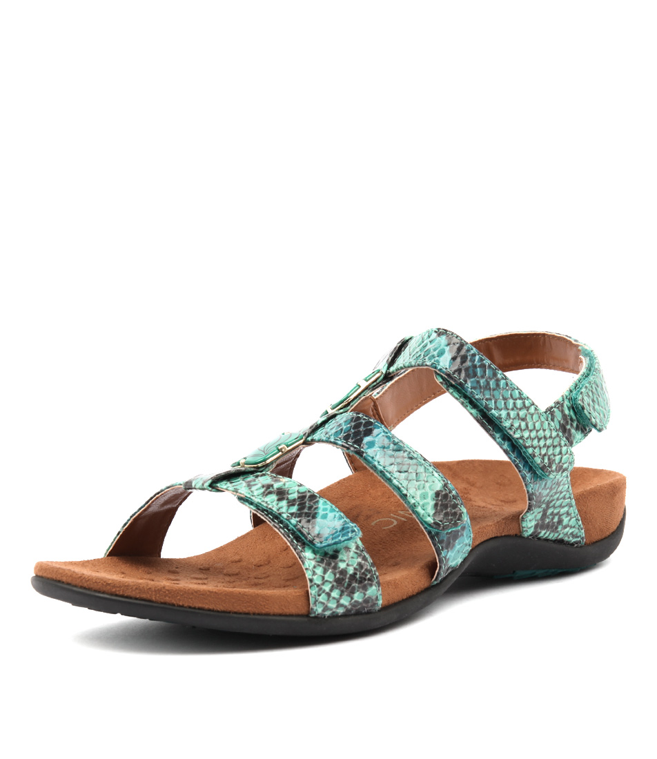 Vionic Rest Amber Teal Sandals