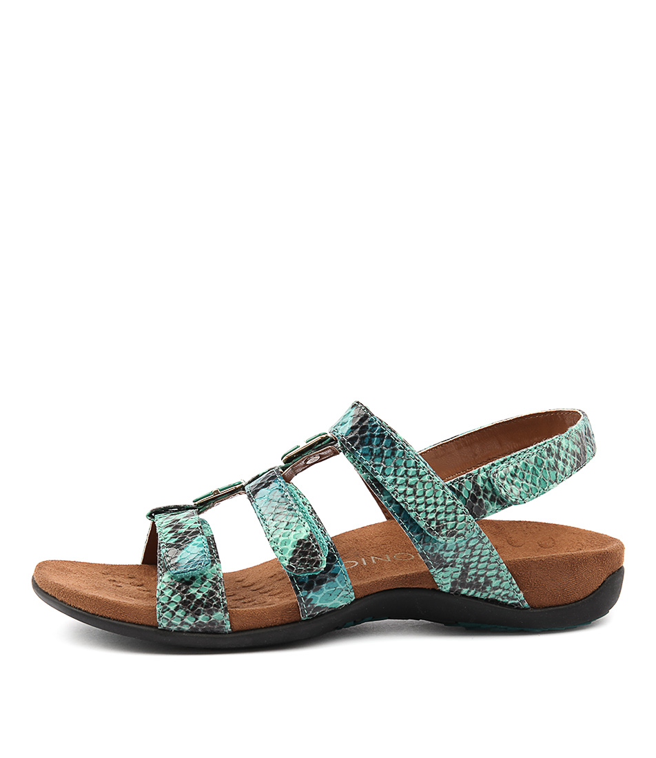 Vionic Rest Amber Teal Sandals