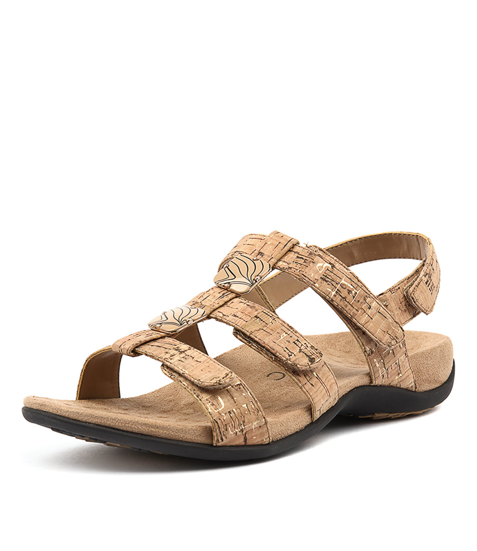 Vionic Rest Amber Gold Sandals