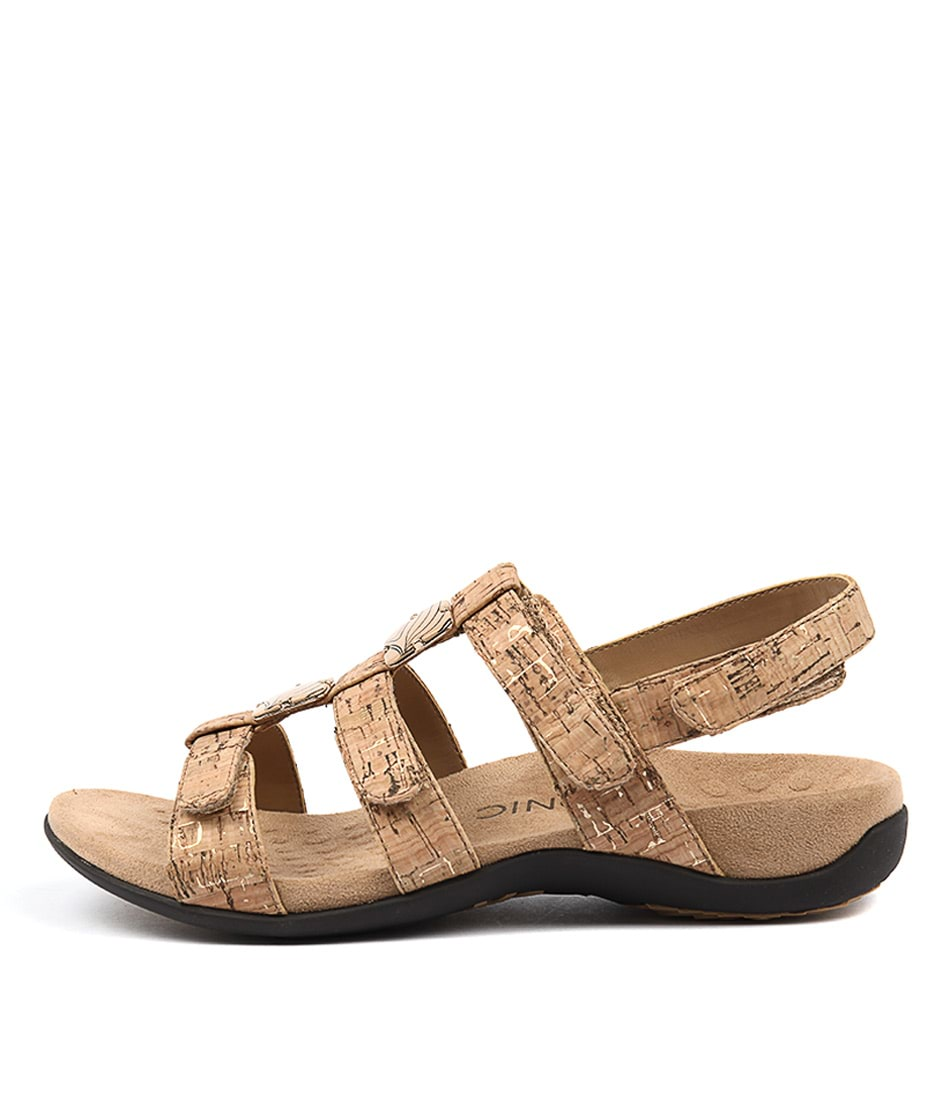 Vionic Rest Amber Gold Sandals
