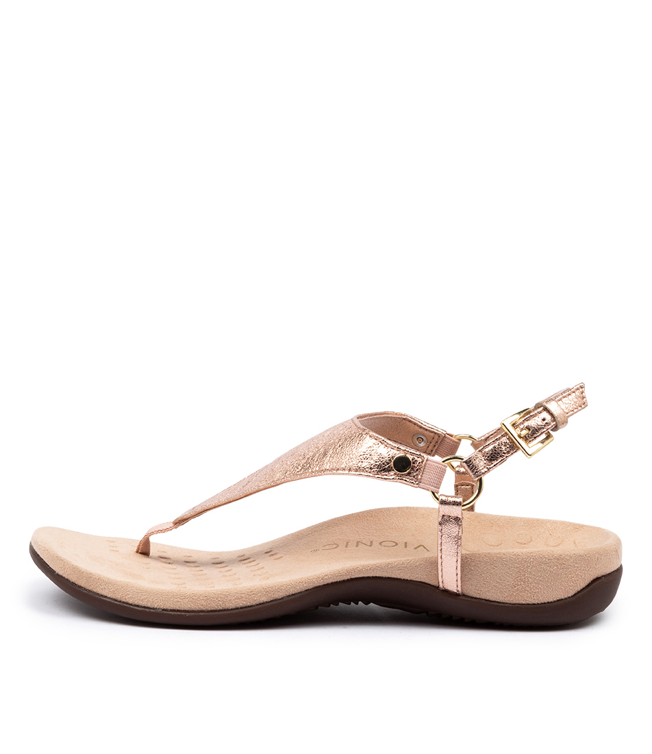Buy Vionic Rest Kirra Rose Gold Sandals online with free shipping