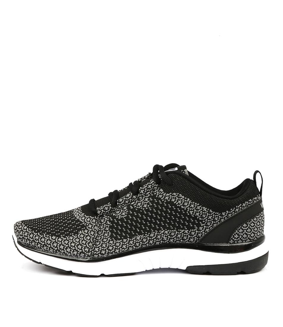 Vionic Flex Sierra Black Charcoal Active Sneakers