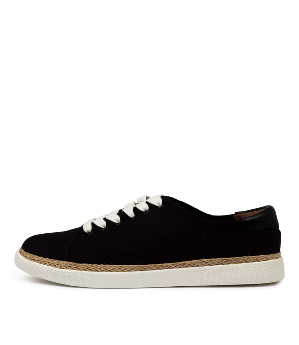 Buy Vionic Sunny Hattie Black Sneakers online with free shipping