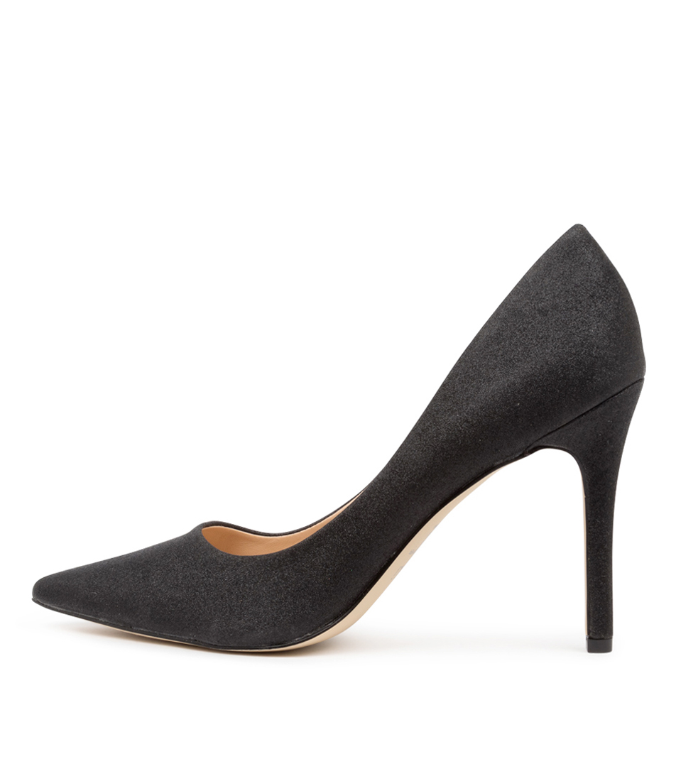 Buy Verali Harold Black Glitter High Heels online with free shipping