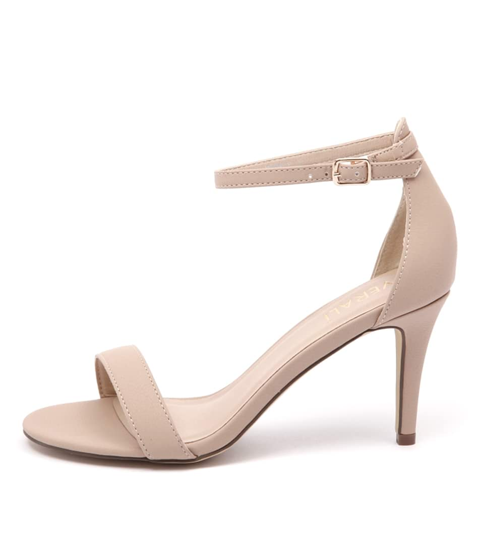 Buy Verali Matthew Nude Heeled Sandals online with free shipping