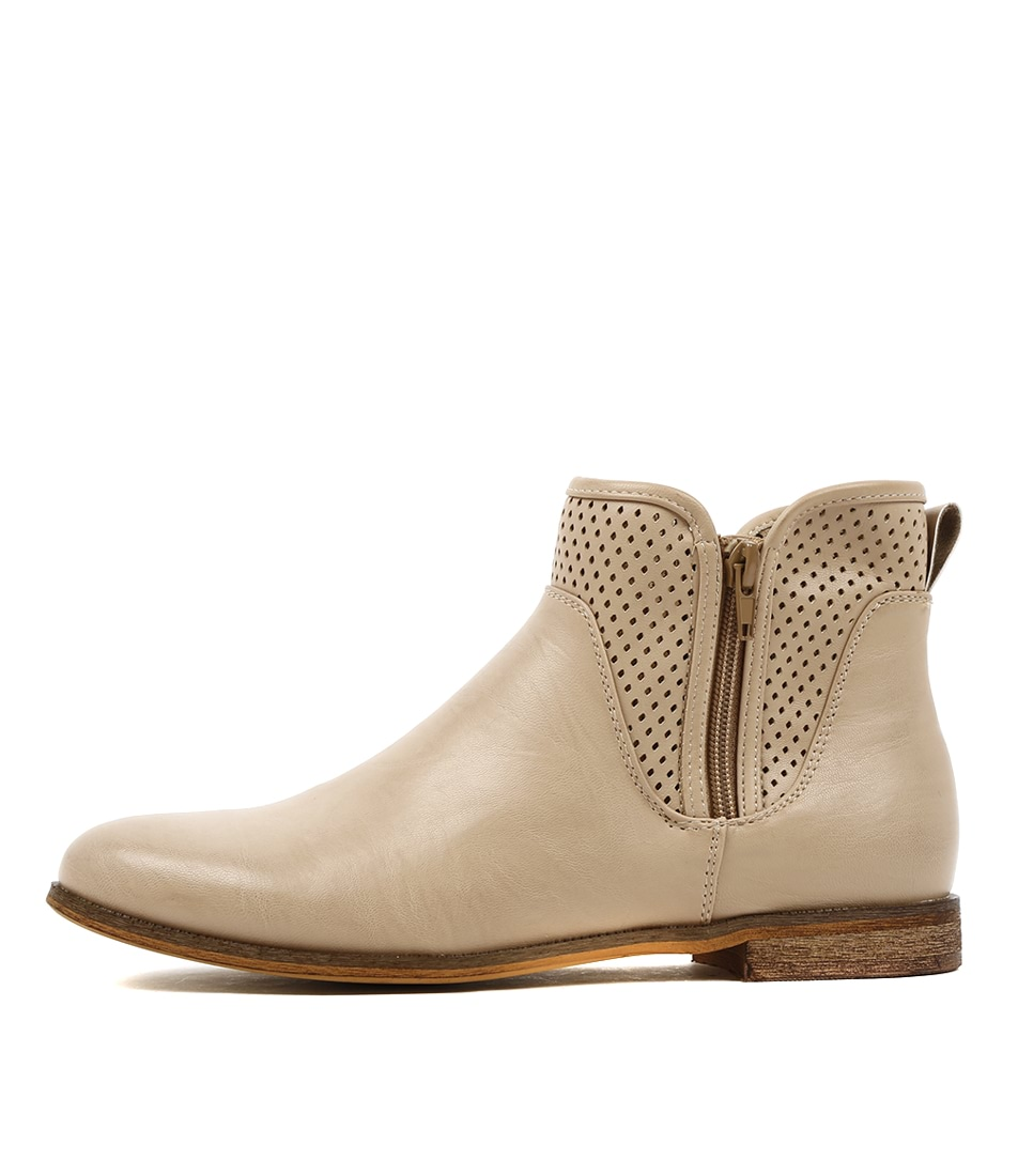 Verali Evitah Camel Casual Ankle Boots