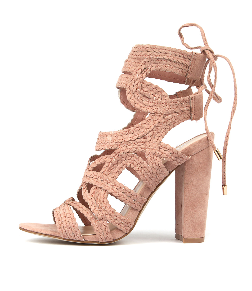 Photo of Verali Jersey Ve Blush Heeled Sandals womens shoes