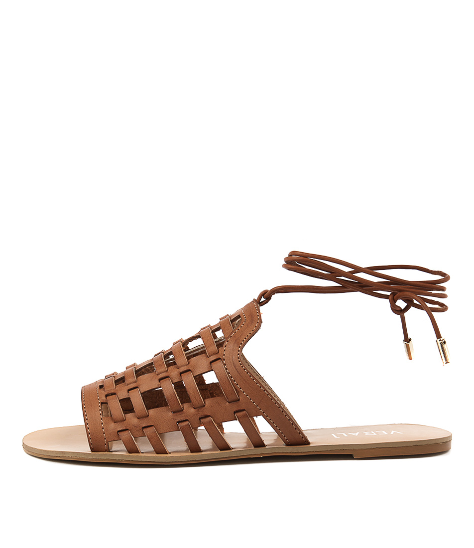 Verali Bente Ve Tan Casual Flat Sandals