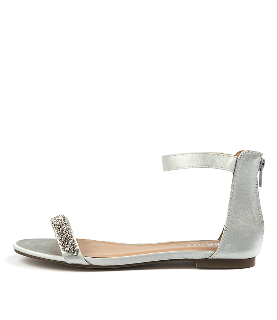 Verali Saul Ve Silver Sheen Dress Flat Sandals