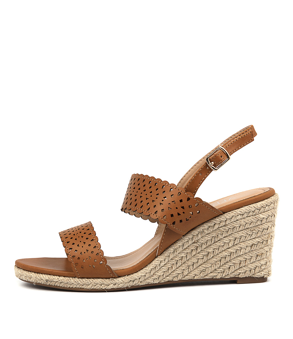 Verali Vicktory Tan Casual Heeled Sandals