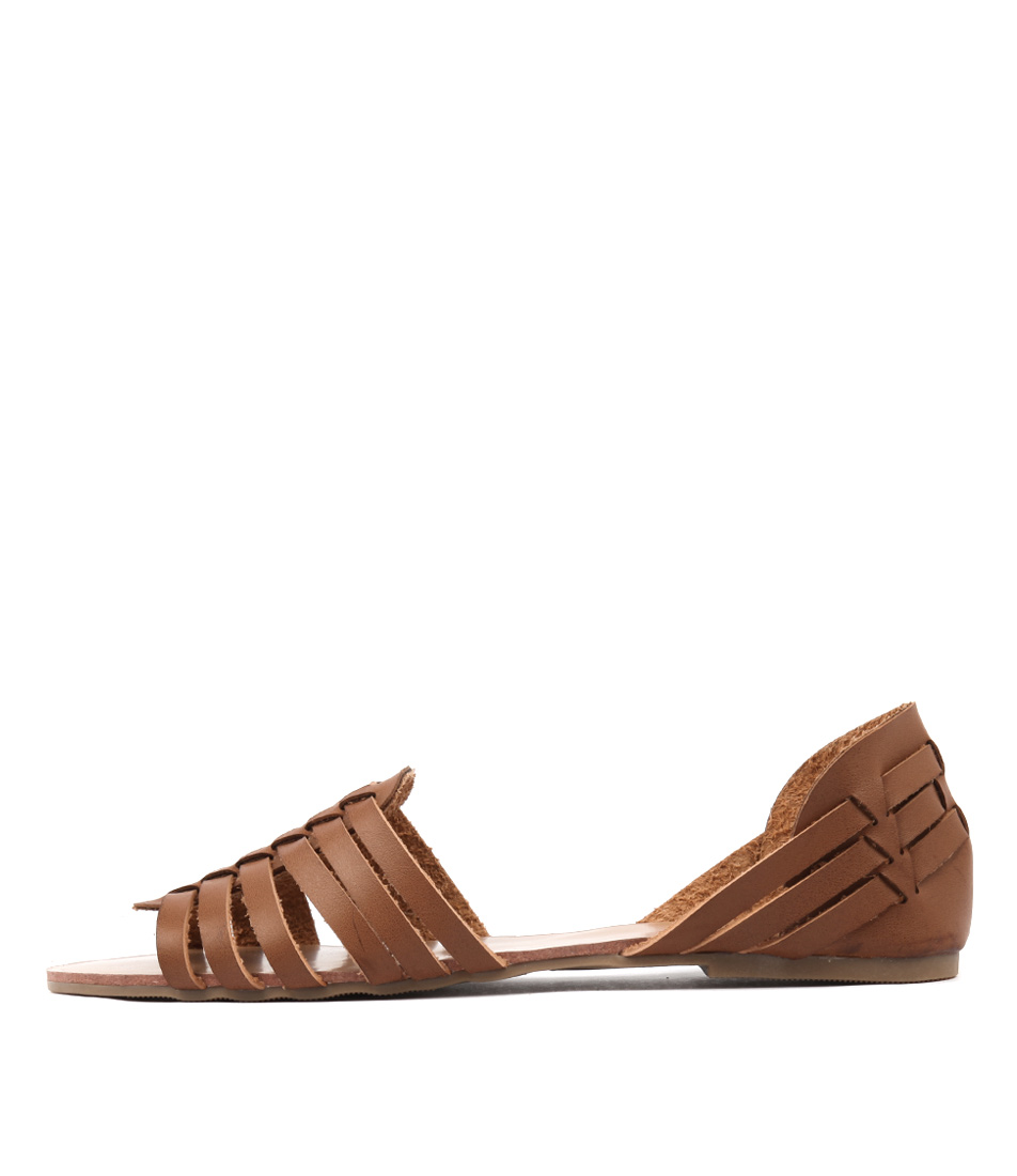Verali Baker2 Ve Tan Casual Flat Sandals