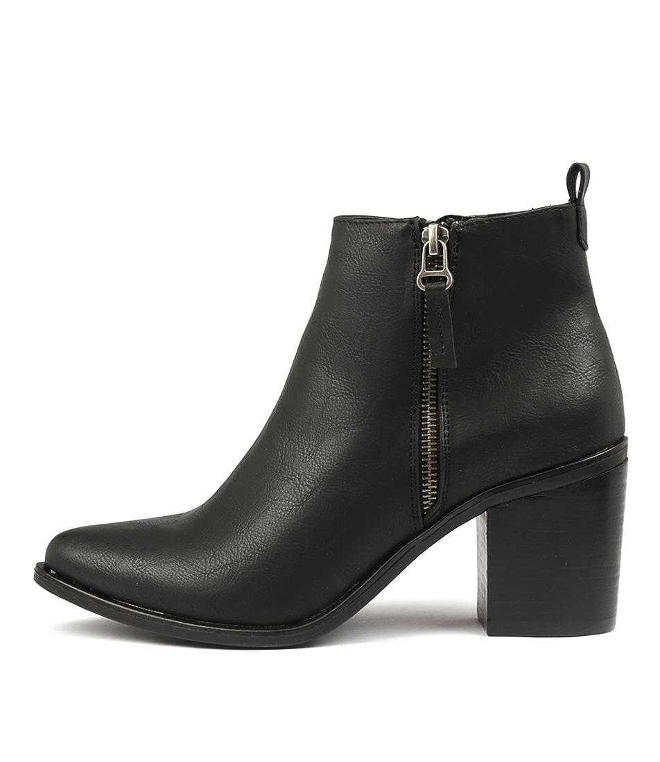 Verali Salli Black Ankle Boots