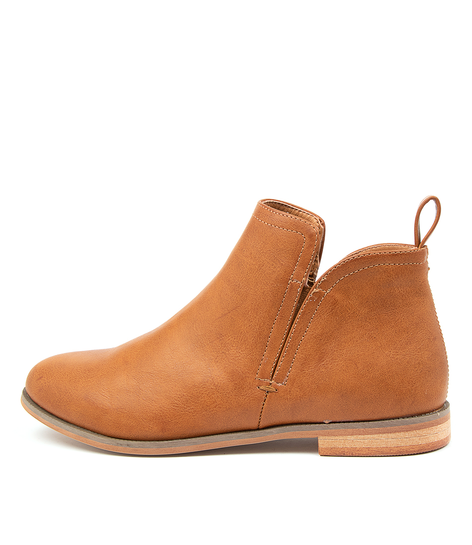 Buy Verali Enemy Ve Tan Ankle Boots online with free shipping