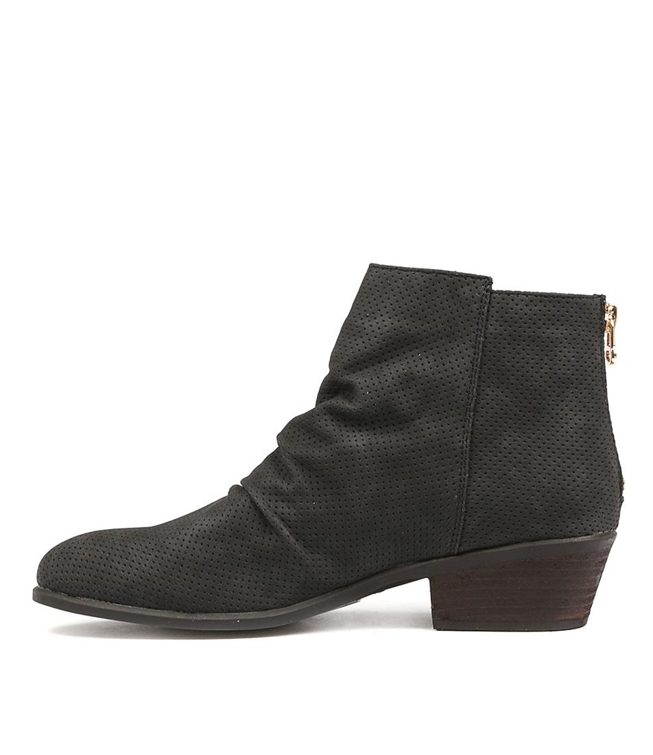 Verali Sabra Ve Black Ankle Boots