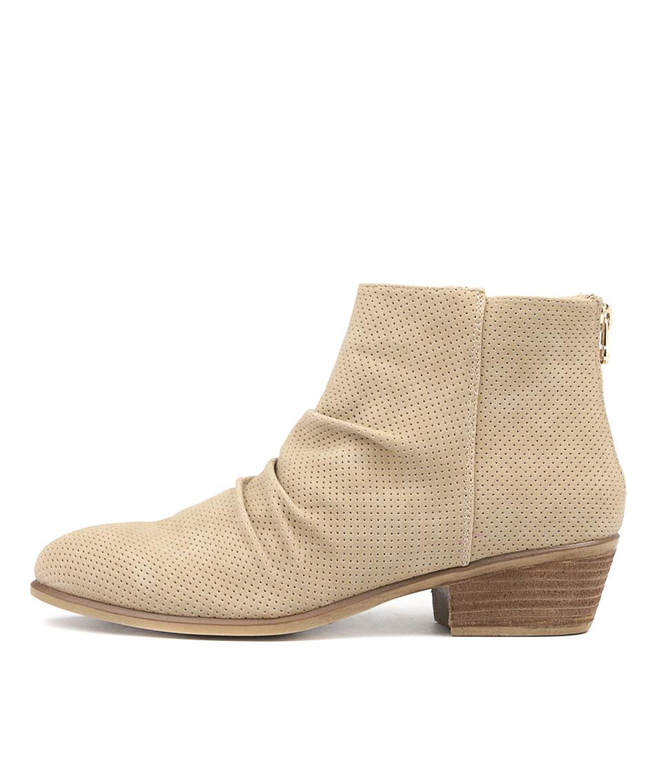 Verali Sabra Ve Sand Ankle Boots