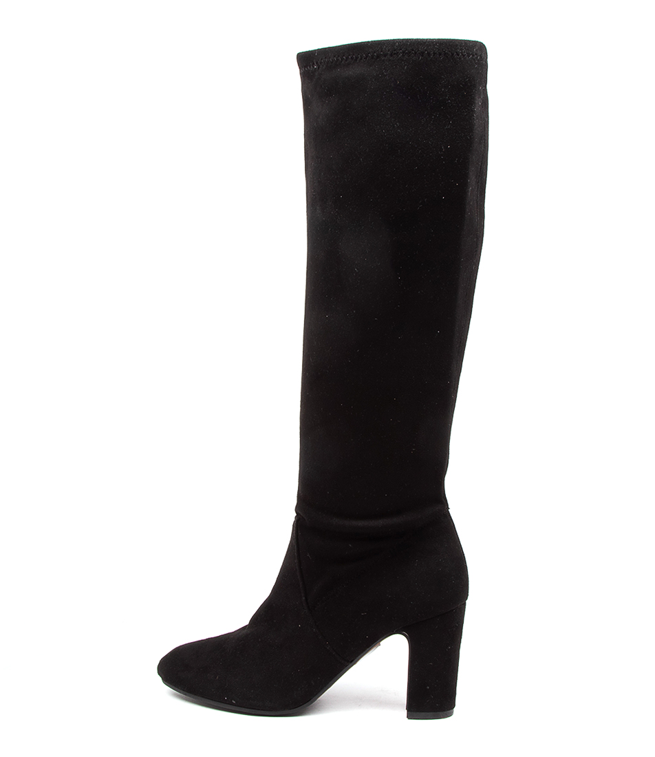 Buy Verali Zack Black Long Boots online with free shipping