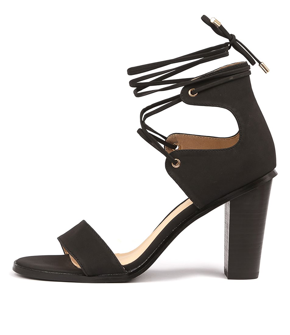 Buy Verali Gael Ve Black Heeled Sandals online with free shipping