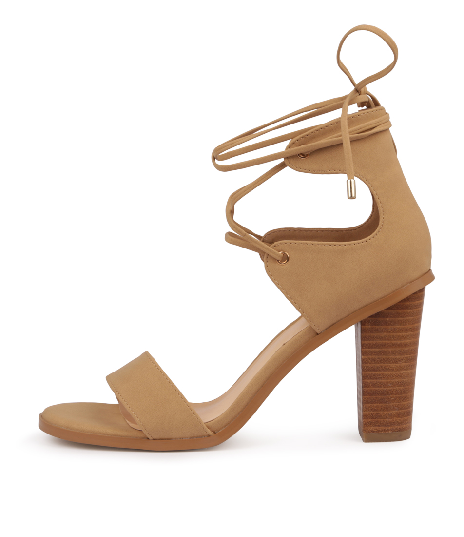 Buy Verali Gael Ve Tan Heeled Sandals online with free shipping