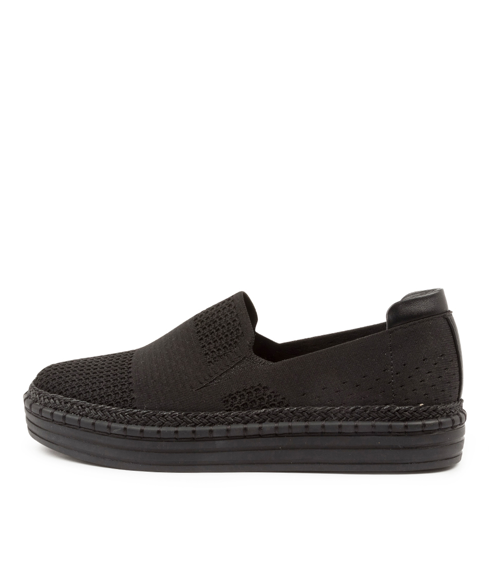 Buy Verali Queen Ve Black Black Sole Sneakers online with free shipping
