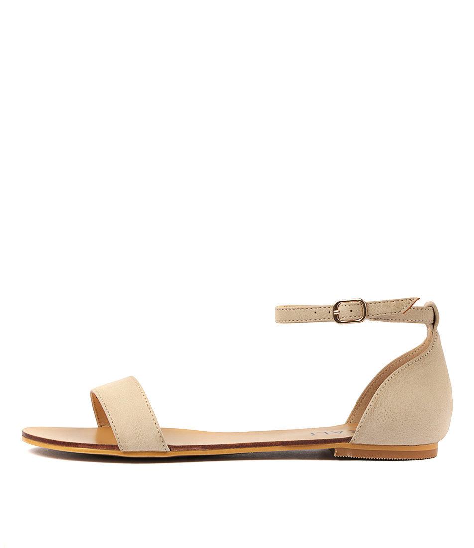 Buy Verali Bailey Ve2 Nude Flat Sandals online with free shipping