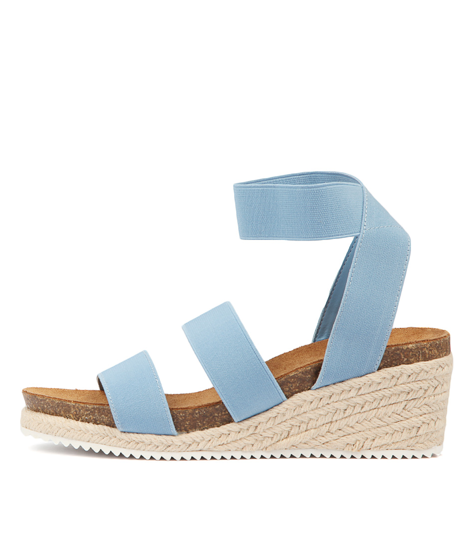 Buy Verali Wisker Light Blue Heeled Sandals online with free shipping