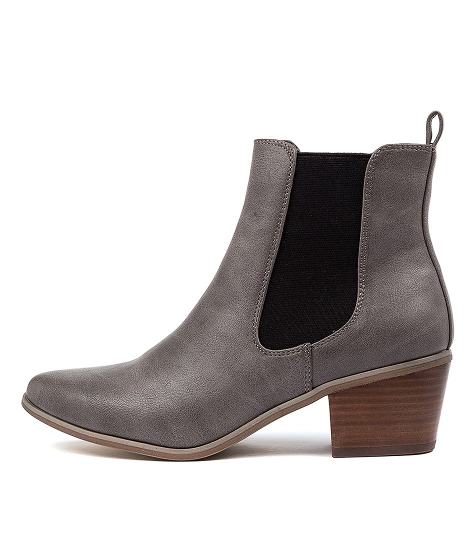 Buy Verali Linz Ve Taupe Ankle Boots online with free shipping