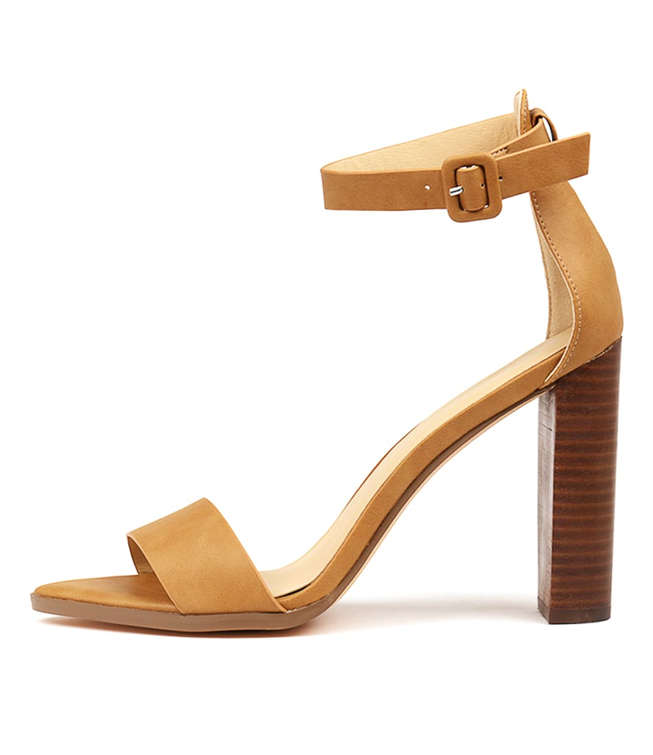 Buy Verali Aioli Tan Heeled Sandals online with free shipping