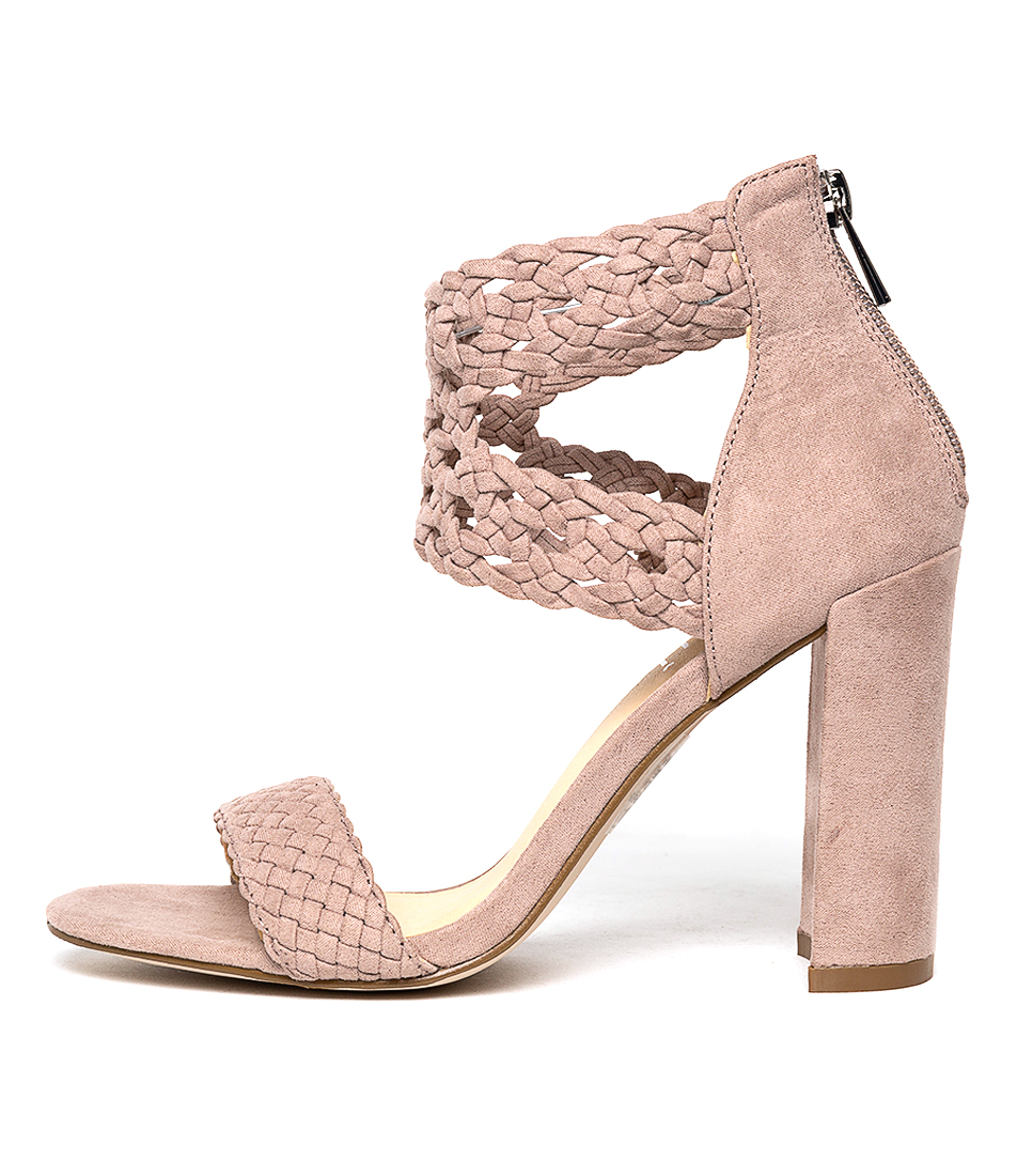 Buy Verali Giplo Blush Heeled Sandals online with free shipping
