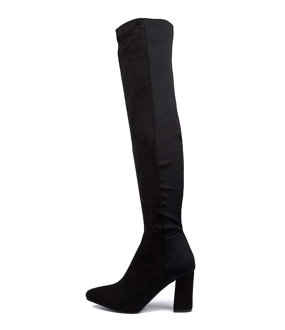 Buy Verali Uli Ve Black Long Boots online with free shipping
