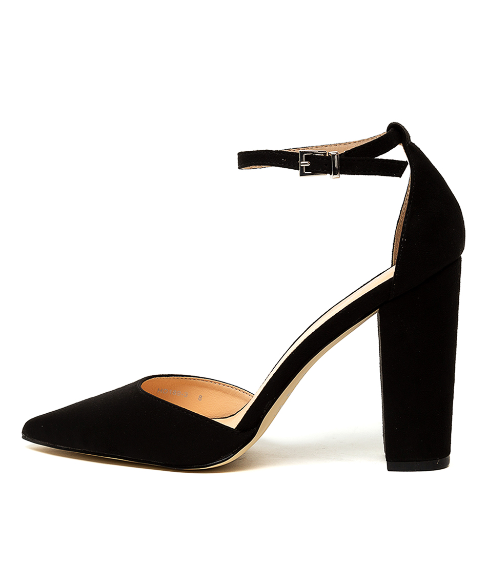 Buy Verali Arlette Ve Black High Heels online with free shipping