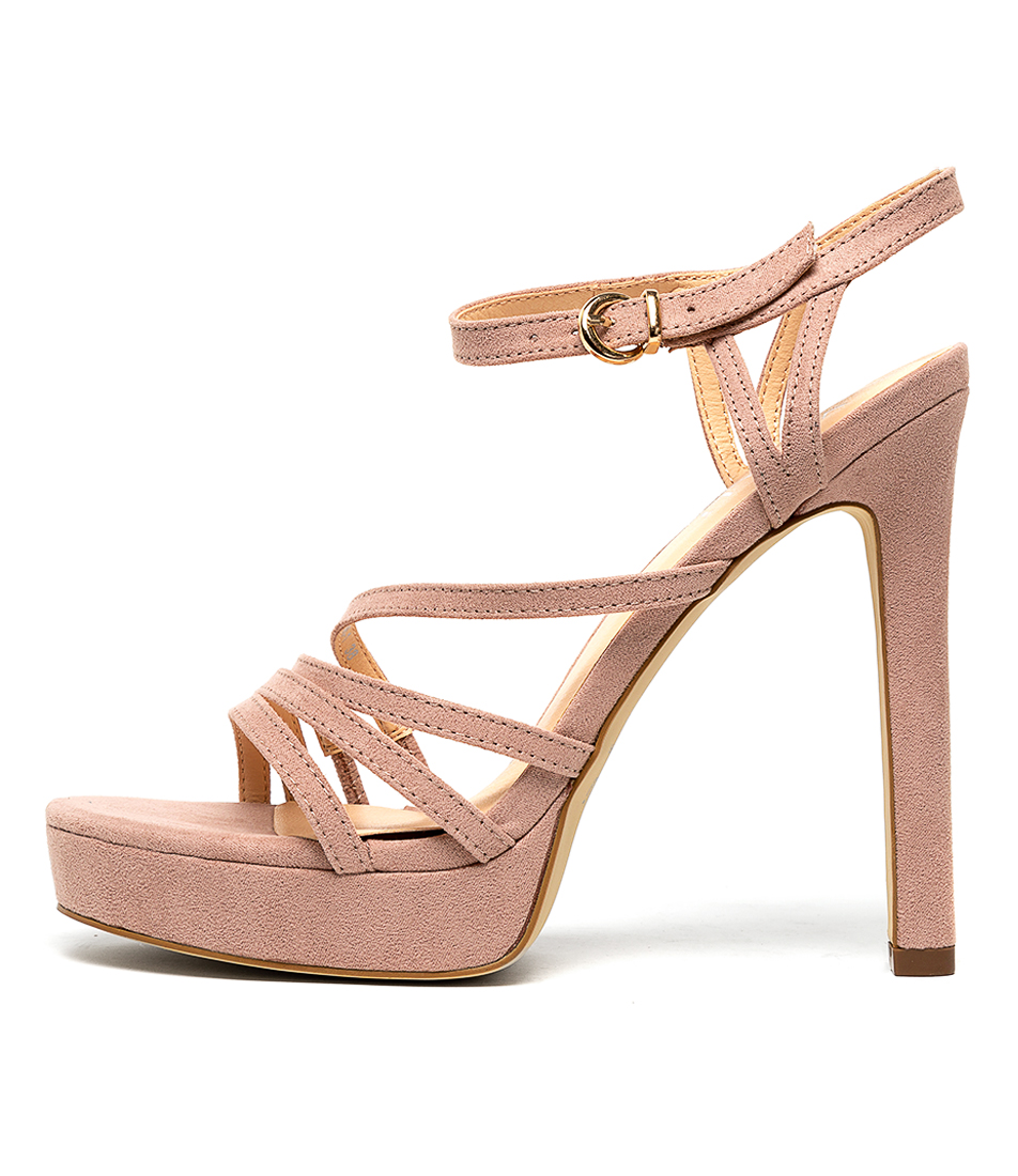 Buy Verali Felise Blush Heeled Sandals online with free shipping