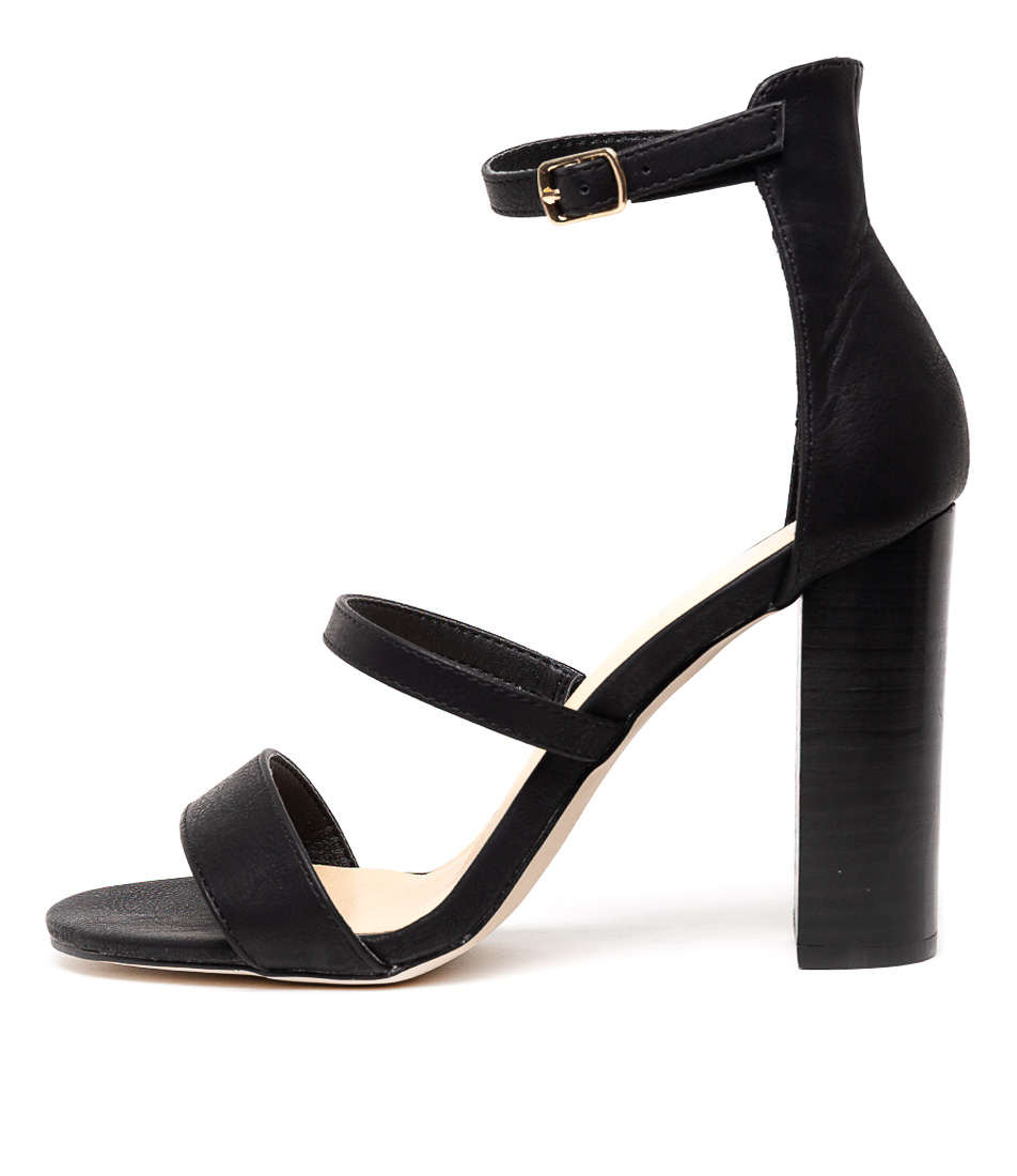 Buy Verali Bubba Black Heeled Sandals online with free shipping