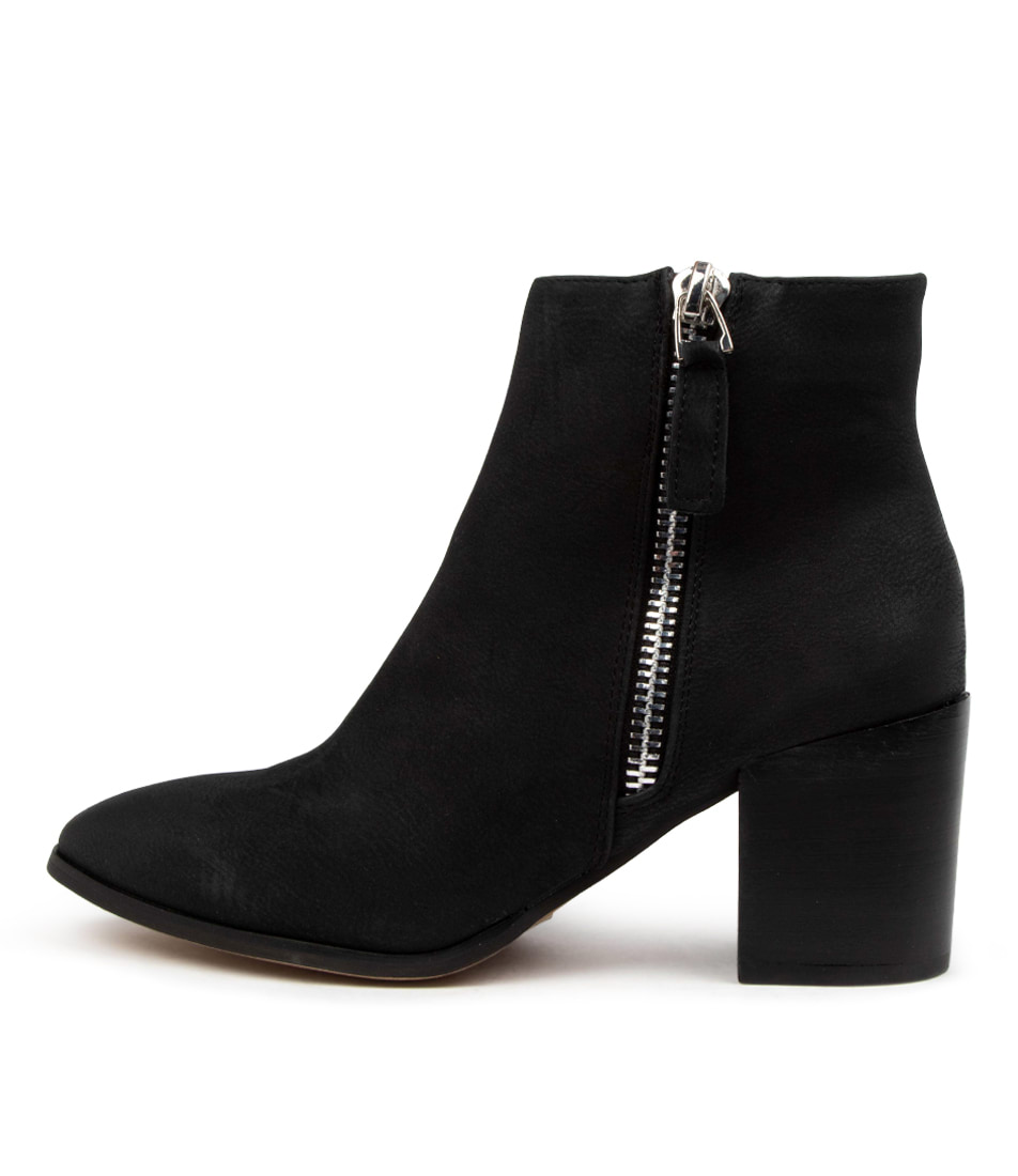 Buy Verali Cygo Black Ankle Boots online with free shipping
