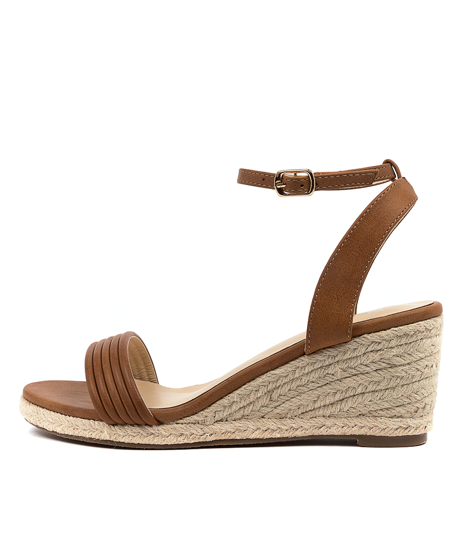 Buy Verali Bindy Ve Tan Heeled Sandals online with free shipping