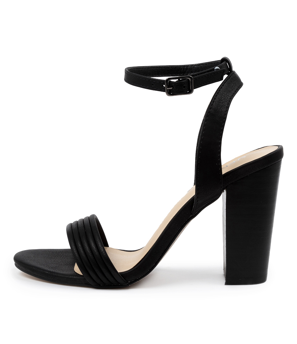 Buy Verali Celsie Ve Black Heeled Sandals online with free shipping