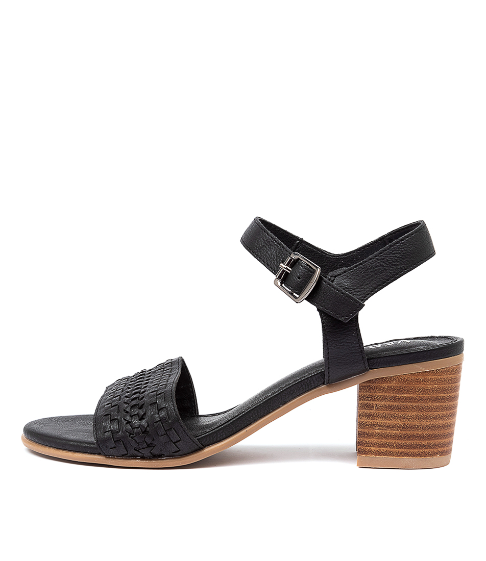 Buy Verali Picies Ve Black Heeled Sandals online with free shipping