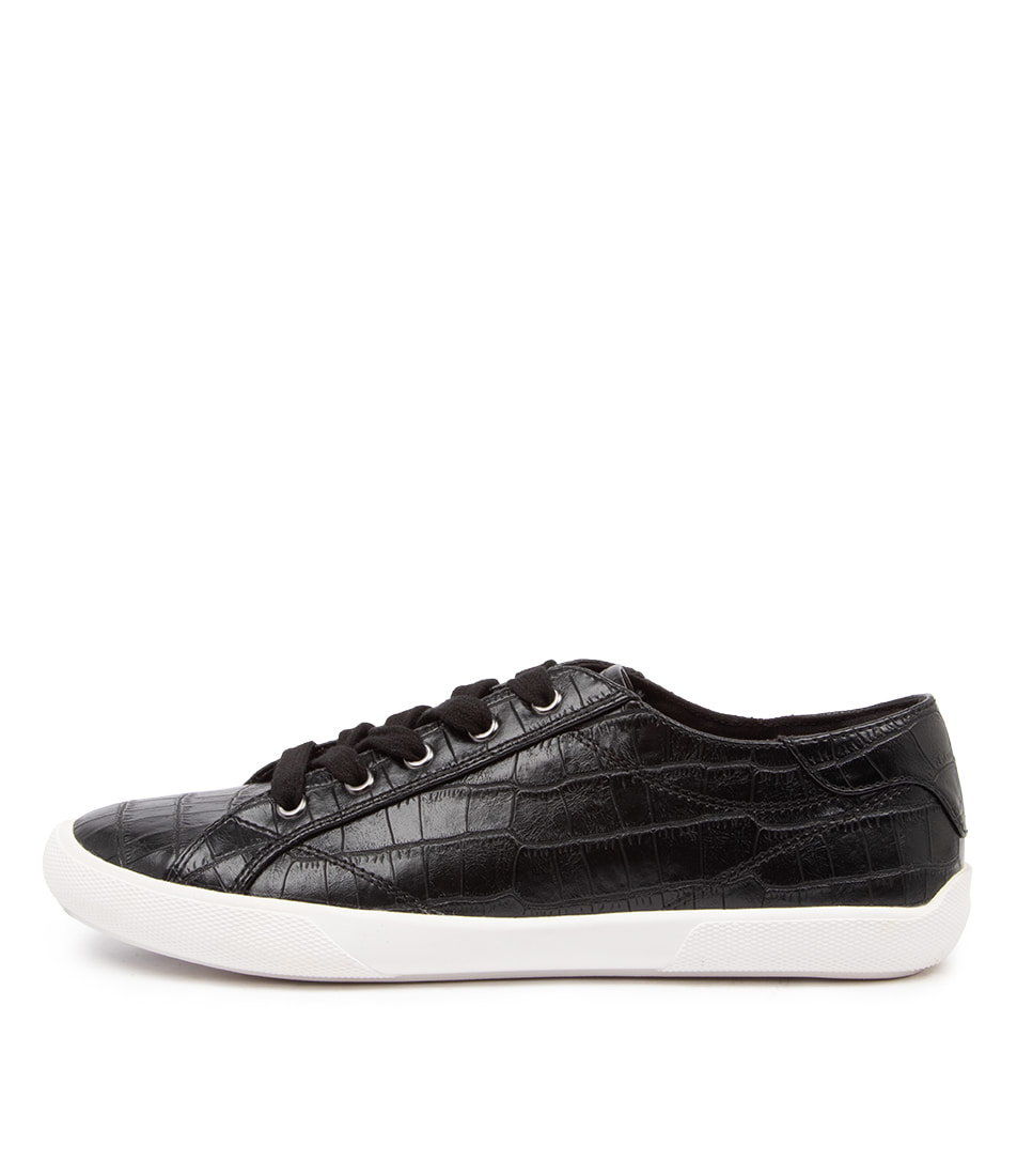 Buy Verali Retro Ve Black Croc Sneakers online with free shipping