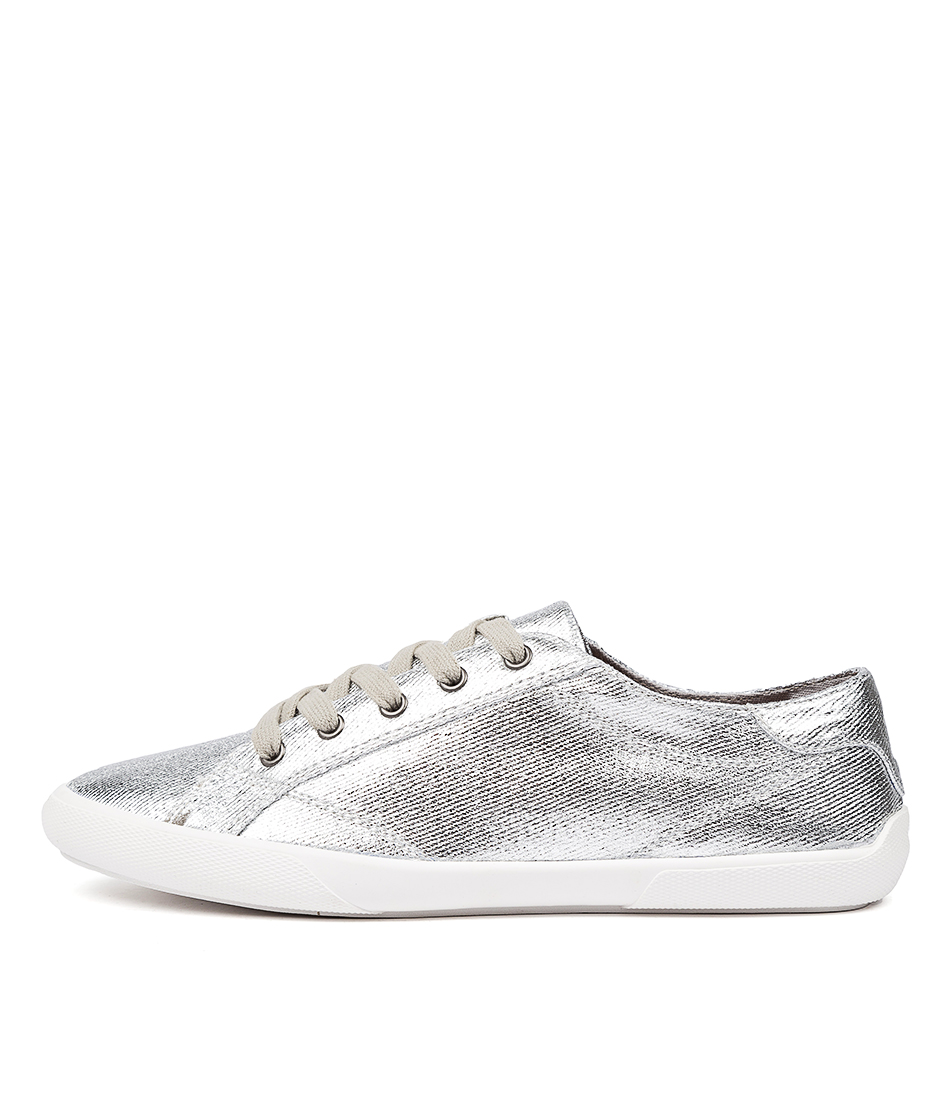Buy Verali Retro Ve Silver Metallic Sneakers online with free shipping