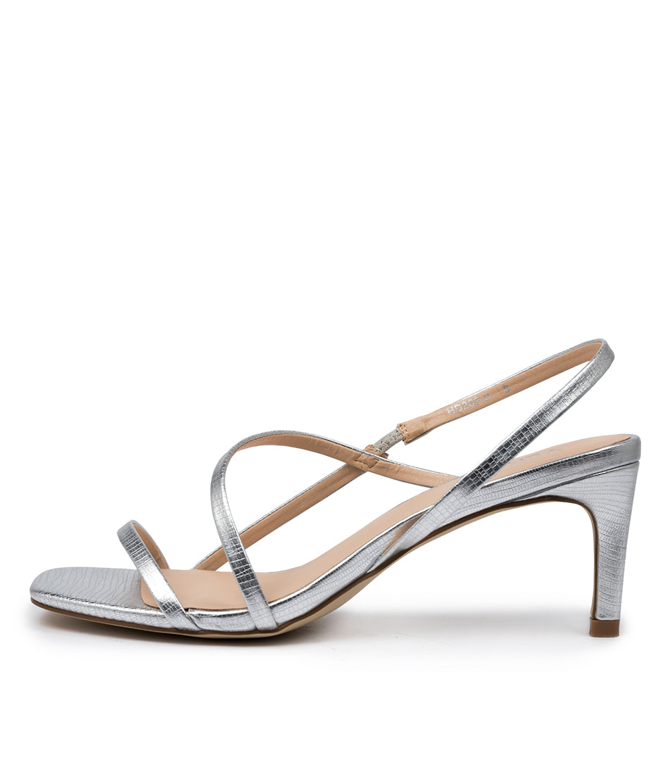 Buy Verali Valerie Ve Silver Heeled Sandals online with free shipping
