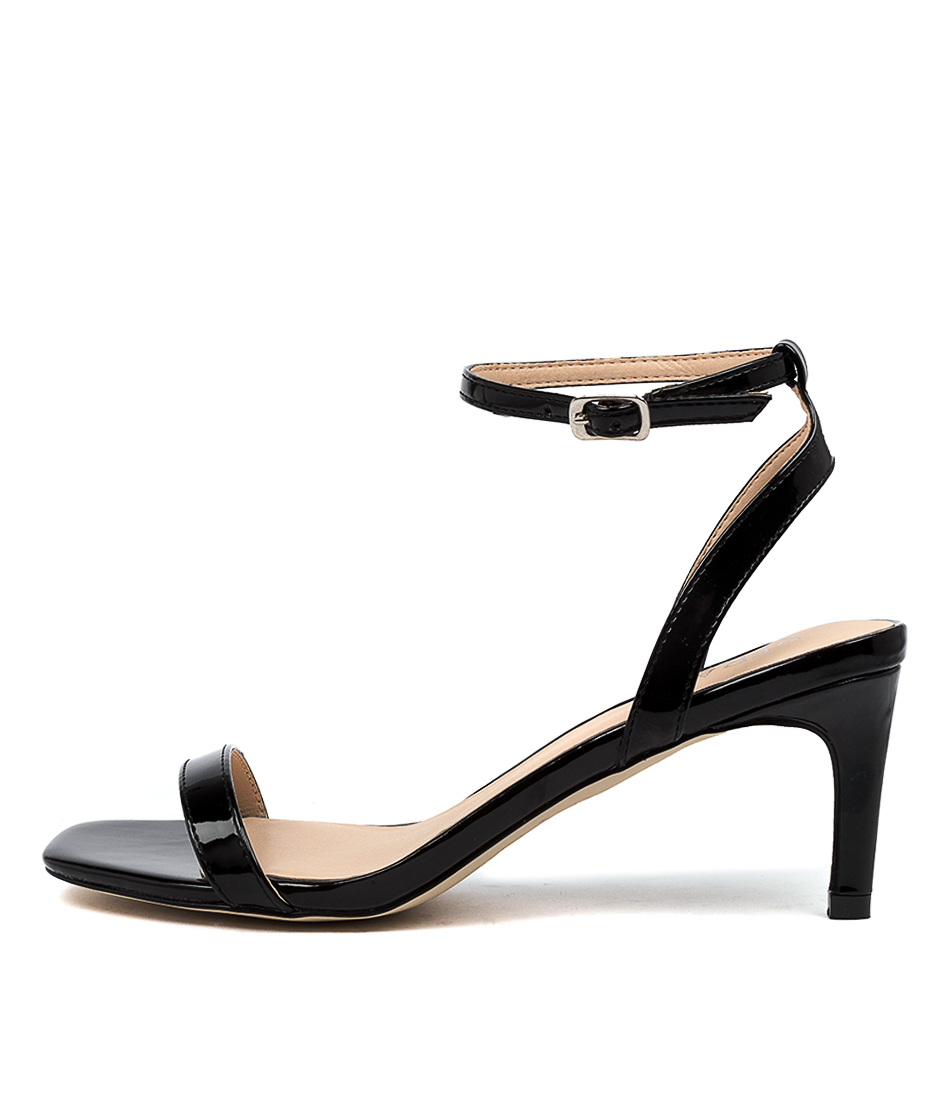 Buy Verali Valencia Ve Black Heeled Sandals online with free shipping