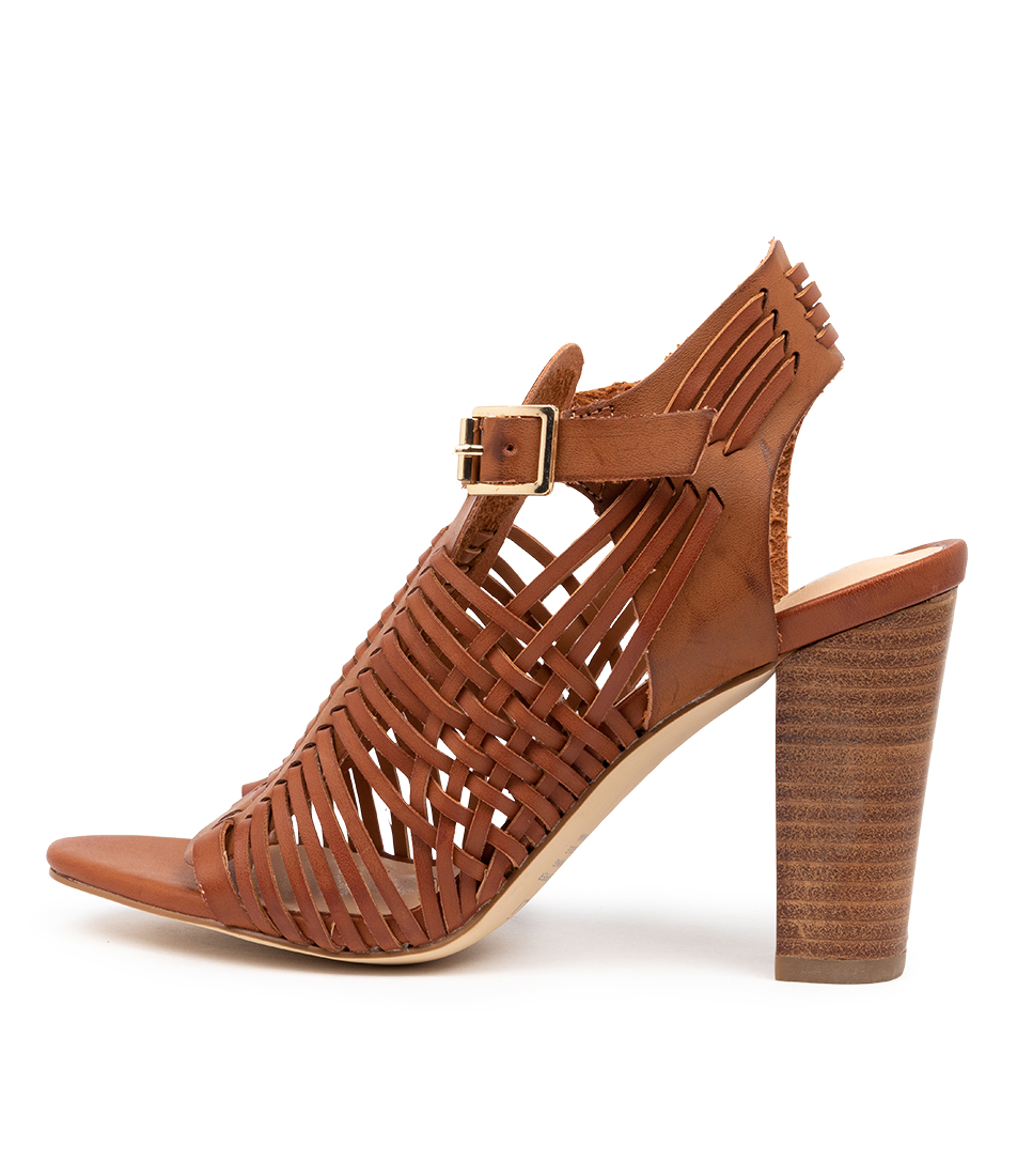 Buy Verali Cordelia Ve Tan Heeled Sandals online with free shipping