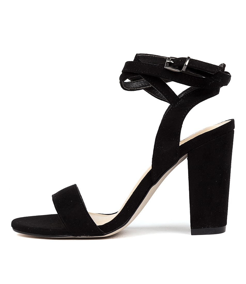 Buy Verali Callista Ve Black Heeled Sandals online with free shipping