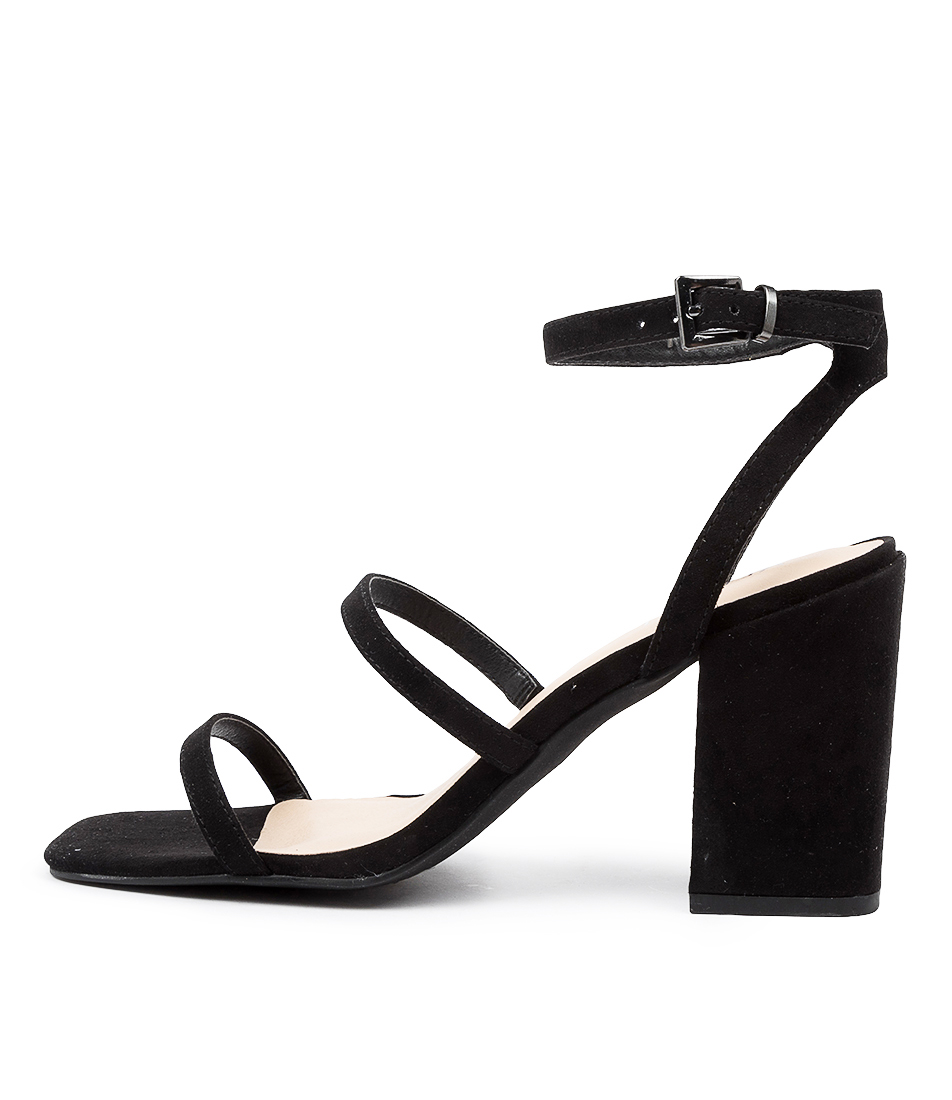 Buy Verali Georgia Ve Black Heeled Sandals online with free shipping