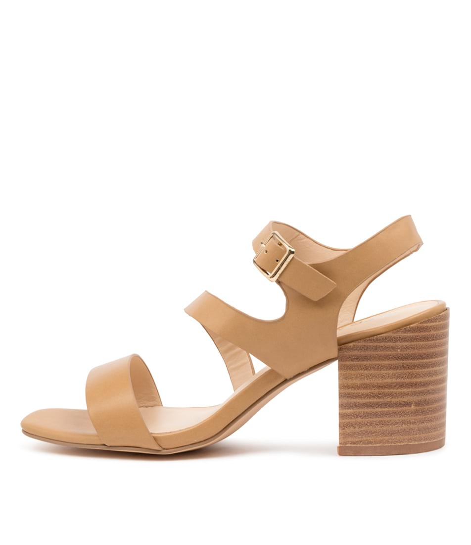 Buy Verali Hunter Ve Camel Softee Heeled Sandals online with free shipping