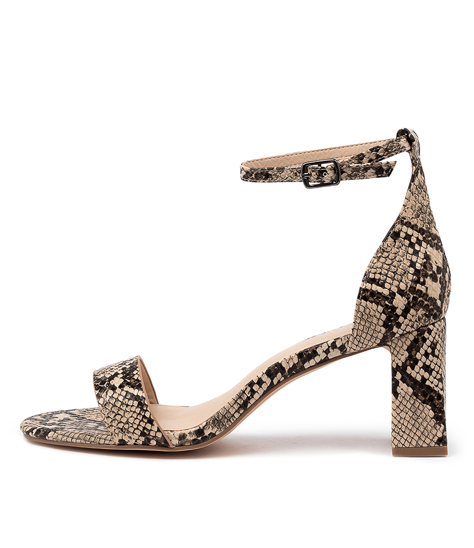 Buy Verali Indi Ve Natural Heeled Sandals online with free shipping