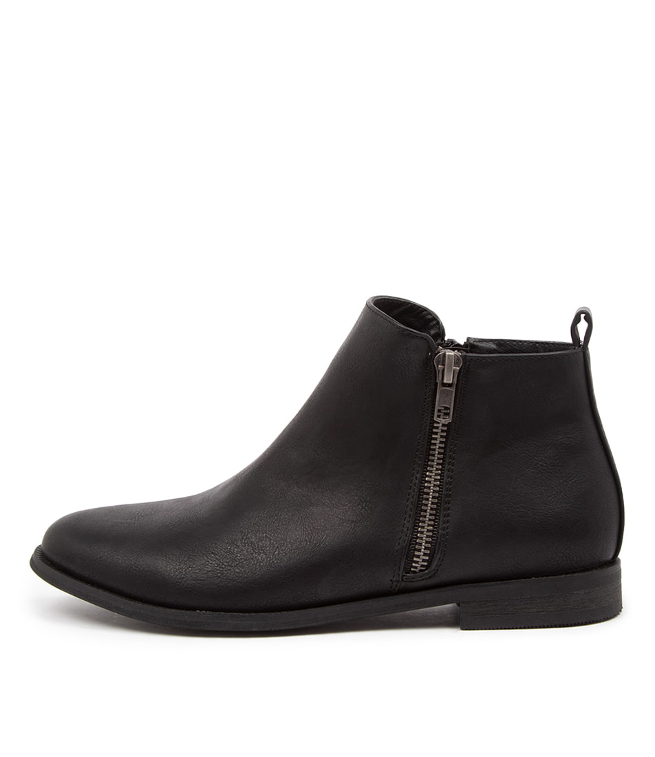 Buy Verali Eddie Ve Black Ankle Boots online with free shipping