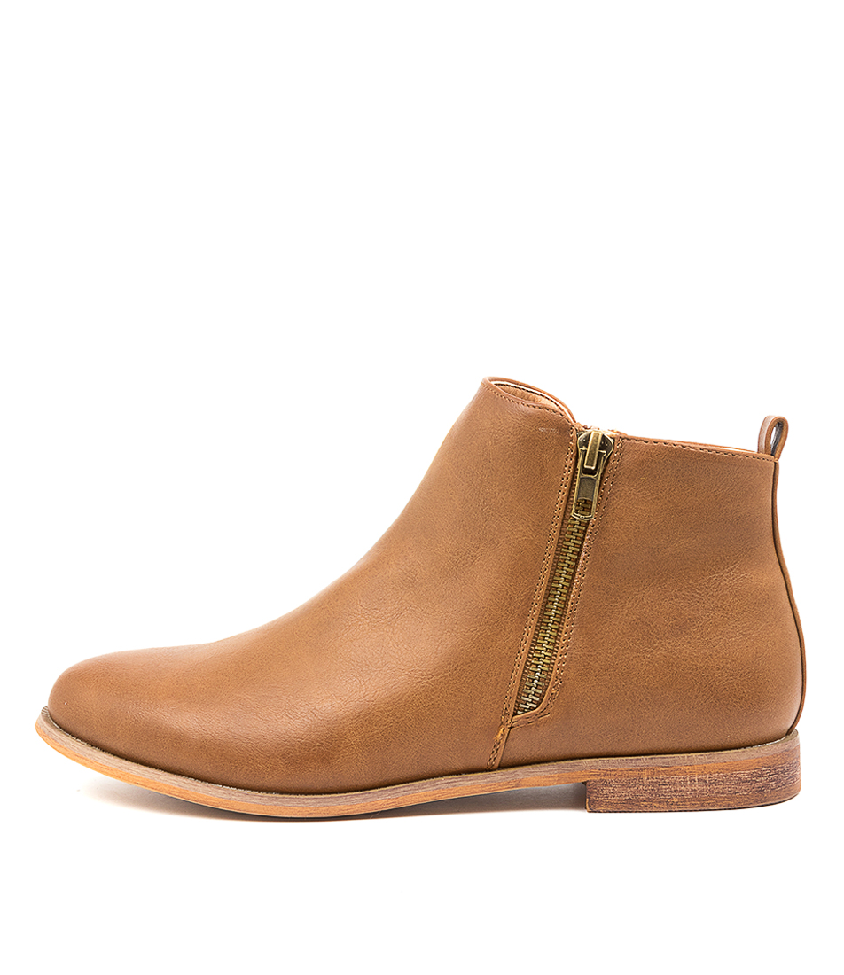 Buy Verali Eddie Ve Tan Ankle Boots online with free shipping