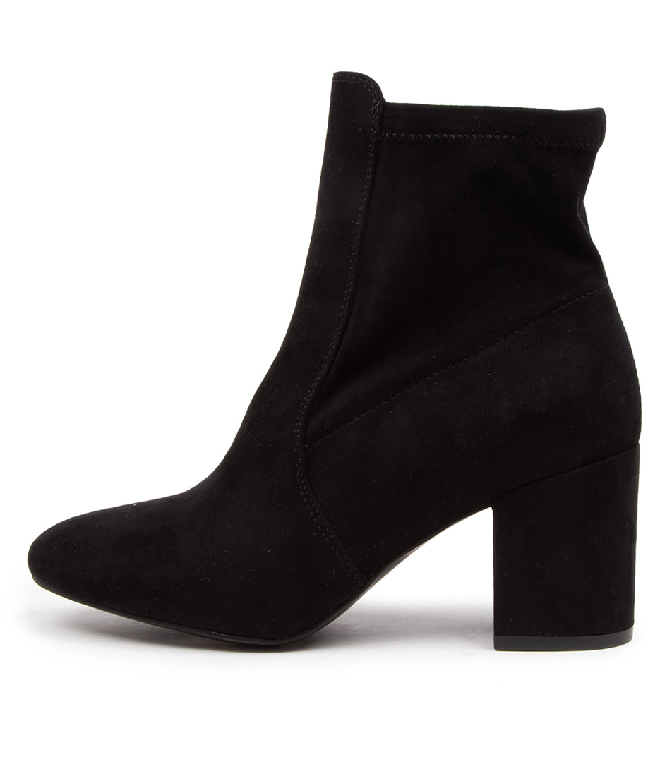 Buy Verali Fifi Ve Black Dress Ankle Boots online with free shipping